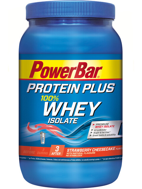 PowerBar ProteinPlus Whey Isolate 100% Alimentazione sportiva Strawberry Cheesecake 570g